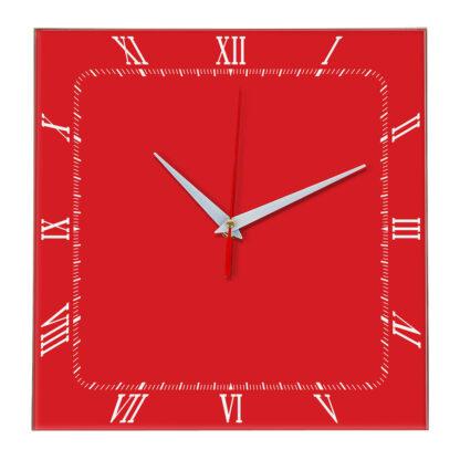 Настенные часы Ideal 866 красный