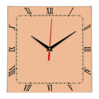 Настенные часы Ideal 866 оранжевый светлый