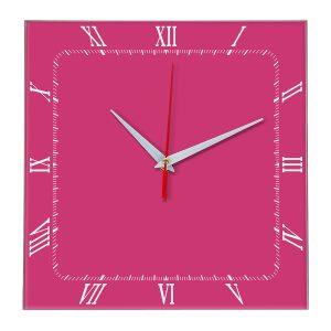 Настенные часы Ideal 866 розовые