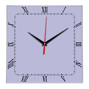 Настенные часы Ideal 866 сиреневый светлый