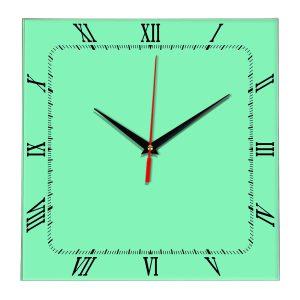 Настенные часы Ideal 866 светлый зеленый