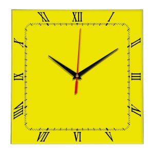 Настенные часы Ideal 866 желтые