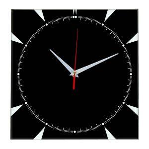 Настенные часы Ideal 867 черные