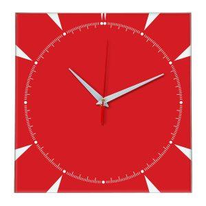 Настенные часы Ideal 867 красный