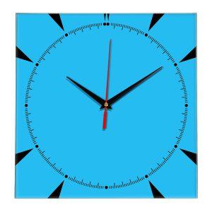 Настенные часы Ideal 867 синий светлый