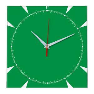 Настенные часы Ideal 867 зеленый