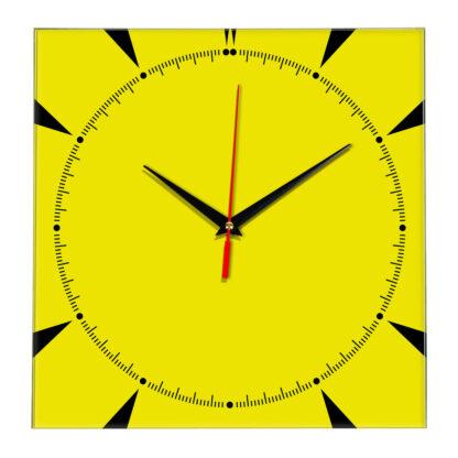 Настенные часы Ideal 867 желтые