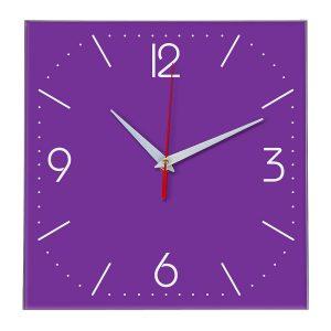 Настенные часы Ideal 868 фиолетовые