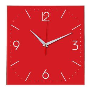 Настенные часы Ideal 868 красный