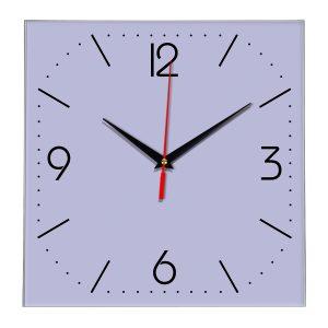 Настенные часы Ideal 868 сиреневый светлый
