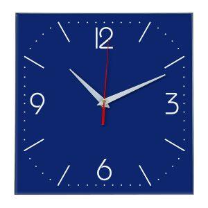Настенные часы Ideal 868 синий темный