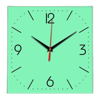 Настенные часы Ideal 868 светлый зеленый