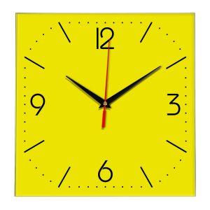Настенные часы Ideal 868 желтые