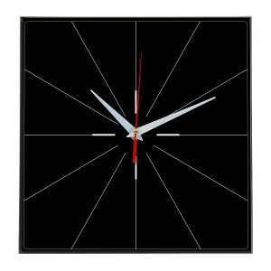 Настенные часы Ideal 869 черные