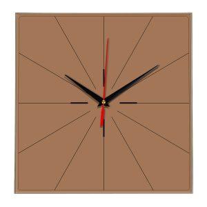 Настенные часы Ideal 869 коричневый светлый