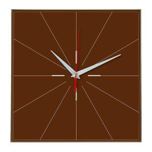 Настенные часы Ideal 869 коричневый