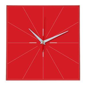 Настенные часы Ideal 869 красный