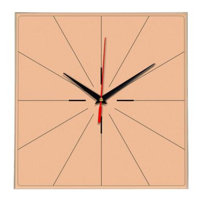 Настенные часы Ideal 869 оранжевый светлый