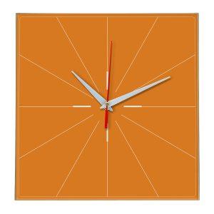 Настенные часы Ideal 869 оранжевый