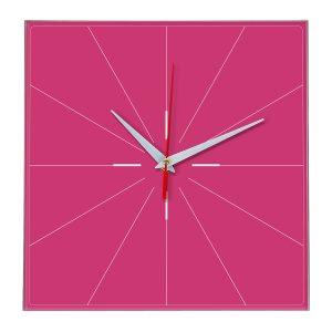 Настенные часы Ideal 869 розовые