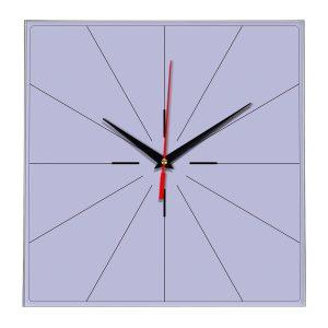 Настенные часы Ideal 869 сиреневый светлый