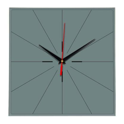 Настенные часы Ideal 869 серо синий