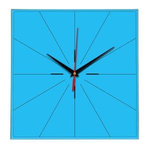 Настенные часы Ideal 869 синий светлый