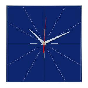 Настенные часы Ideal 869 синий темный