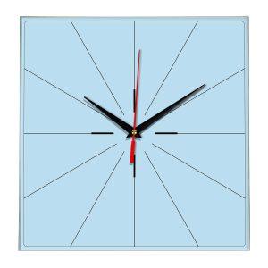 Настенные часы Ideal 869 светло-голубой