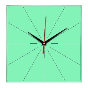 Настенные часы Ideal 869 светлый зеленый
