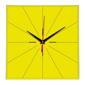 Настенные часы Ideal 869 желтые