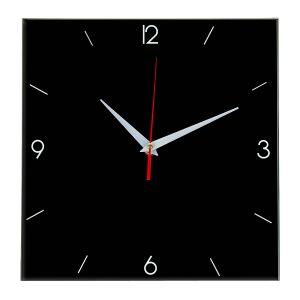 Настенные часы Ideal 870 черные