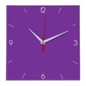 Настенные часы Ideal 870 фиолетовые