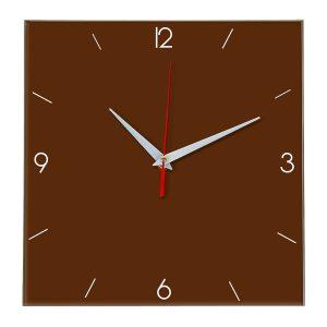Настенные часы Ideal 870 коричневый