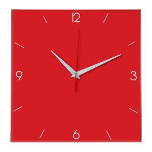 Настенные часы Ideal 870 красный
