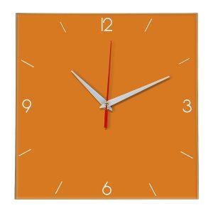 Настенные часы Ideal 870 оранжевый
