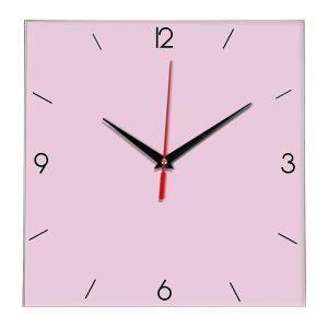 Настенные часы Ideal 870 розовые светлый