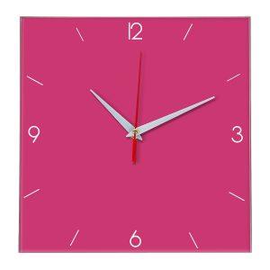 Настенные часы Ideal 870 розовые