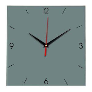Настенные часы Ideal 870 серо синий