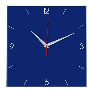 Настенные часы Ideal 870 синий темный