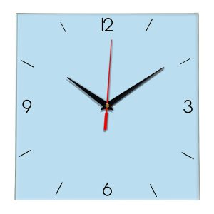 Настенные часы Ideal 870 светло-голубой