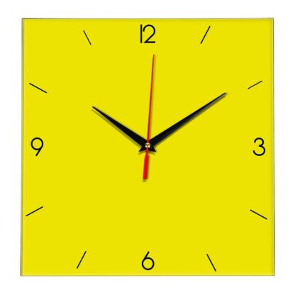 Настенные часы Ideal 870 желтые