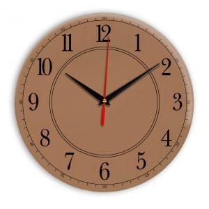 Настенные часы Ideal 900 коричневый светлый
