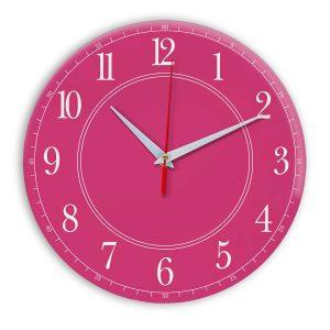 Настенные часы Ideal 900 розовые
