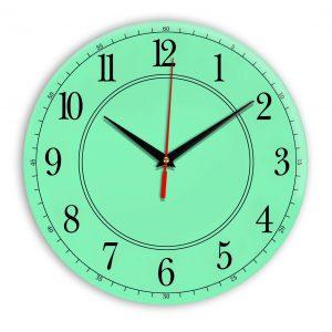 Настенные часы Ideal 900 светлый зеленый