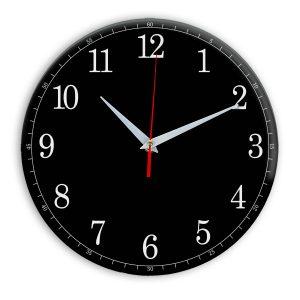 Настенные часы Ideal 901 черные