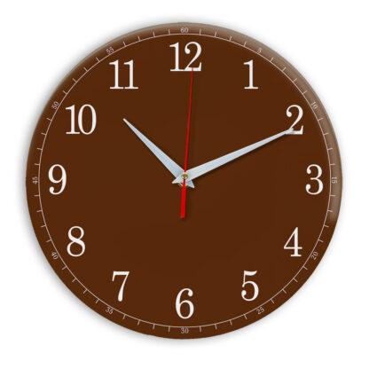 Настенные часы Ideal 901 коричневый