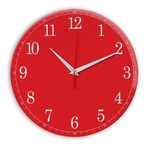 Настенные часы Ideal 901 красный