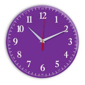 Настенные часы Ideal 902 фиолетовые