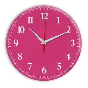 Настенные часы Ideal 902 розовые
